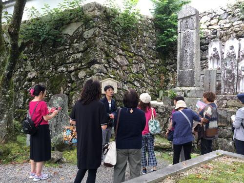 明智光秀の墓が残る滋賀県の西教寺