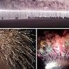 となり街の「佐久山花火大会」。花火かすを大量に浴びた岩波久雄です??の画像