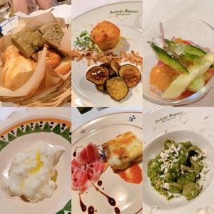 イタリアンと日本料理の画像