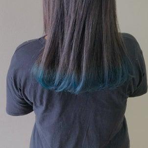 毛先カラーの画像