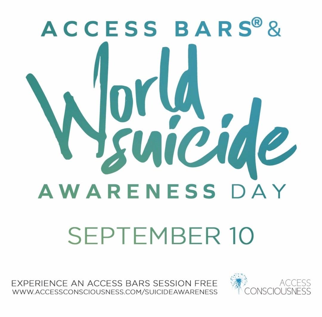 【アクセスバーズ無料体験会】9/21 World Suicide awareness day☆の記事より