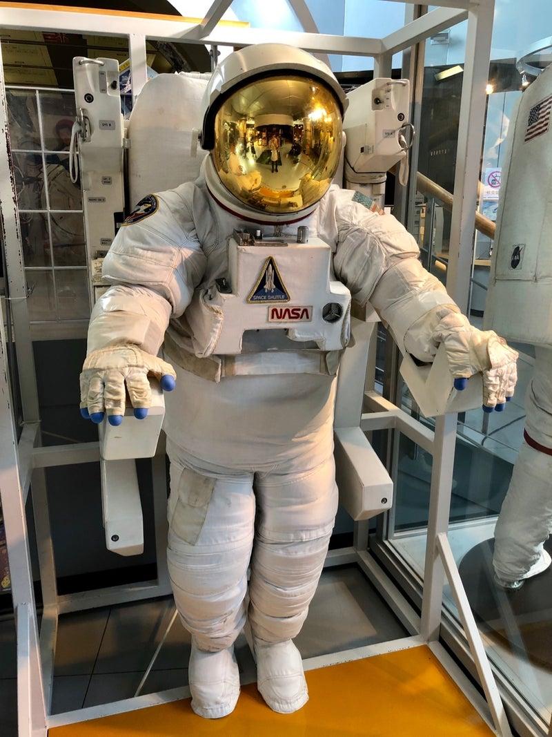 宇宙飛行士体験