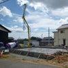 基礎工事②「モデルハウス」の画像