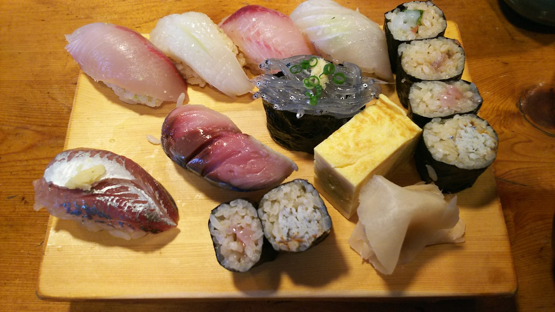 極上の地物寿司