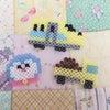 【第二弾!】アイロンビーズでドクターイエローとドラえもんを作成!!の画像