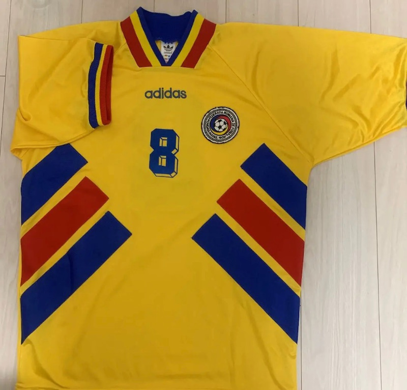 ルーマニア代表 1994 アメリカw杯 1stユニフォーム サッカー