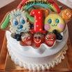 プチプラ誕生日ケーキ