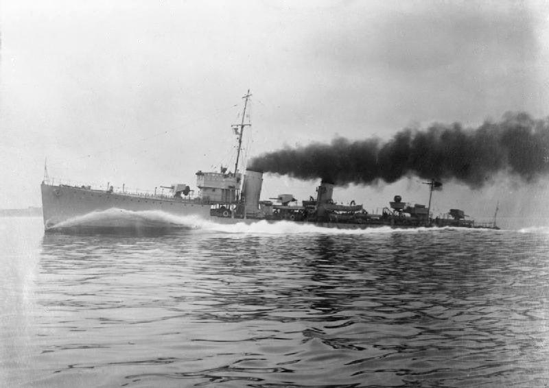 101回目のブログは英国駆逐艦を改装した「第百一号哨戒艇」 | 海軍艦艇 ...