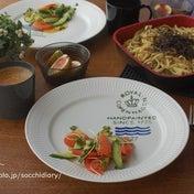 【簡単レシピ】鯖缶で作る、ピリ辛和風パスタ♡