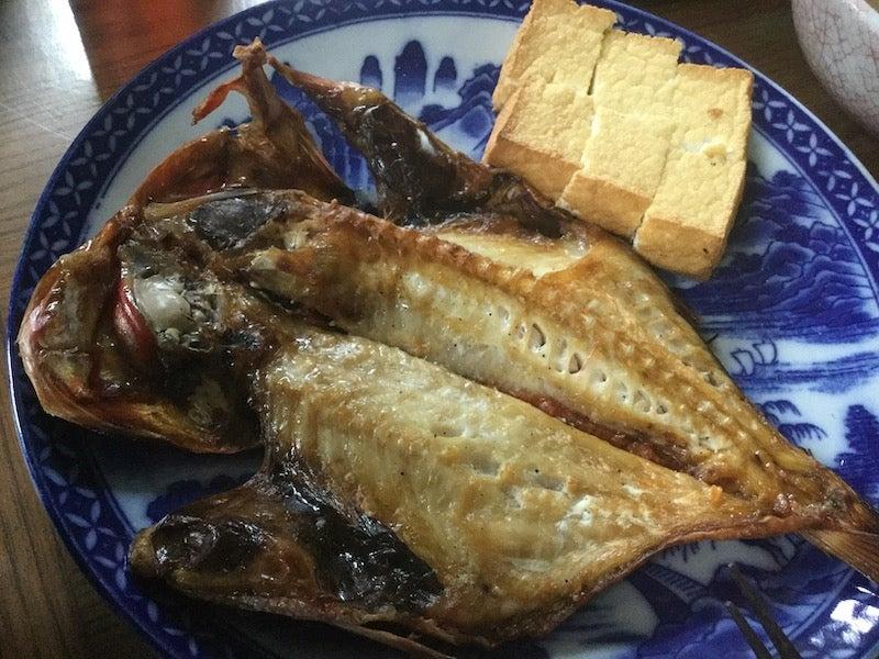 立派な金目鯛の干物