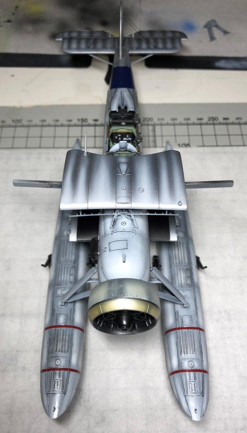 タミヤ フェアリーソードフィッシュ水上機型