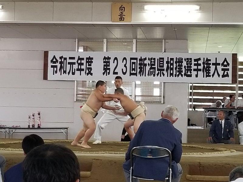第23回新潟県相撲選手権大会