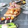 *休日のお昼ごはん*〜ローストビーフ&自家製燻製〜の画像