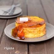 【絶品おやつ】琥珀色のブリュレチーズケーキ