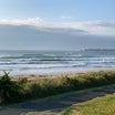 今朝の国府の浜