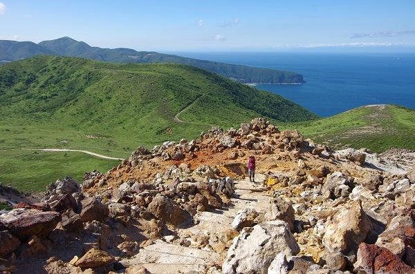 ひつぞうとおサル妻の山旅日記恵山(権現堂コース)~海向山(左回りコース)