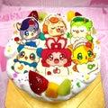 ポップアップイラストフォト ひらけここたまケーキl 菓の香サプライズケーキ制作実績