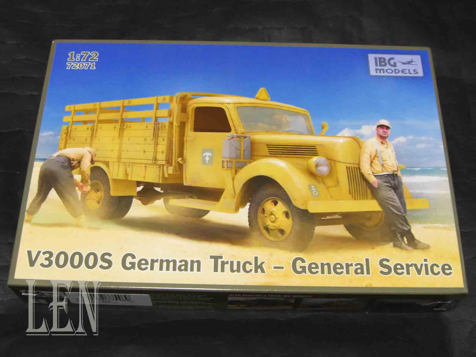 IBG 72071 V3000S German Truck General Service scale 1//72