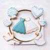《受付中》8枚 プリンセスアイシングクッキーの画像