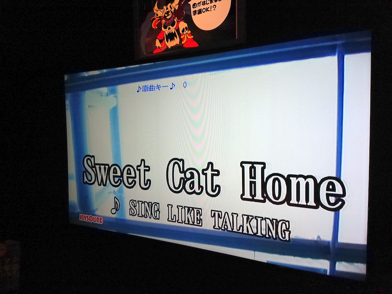 カラオケ「Sweet Cat Home」