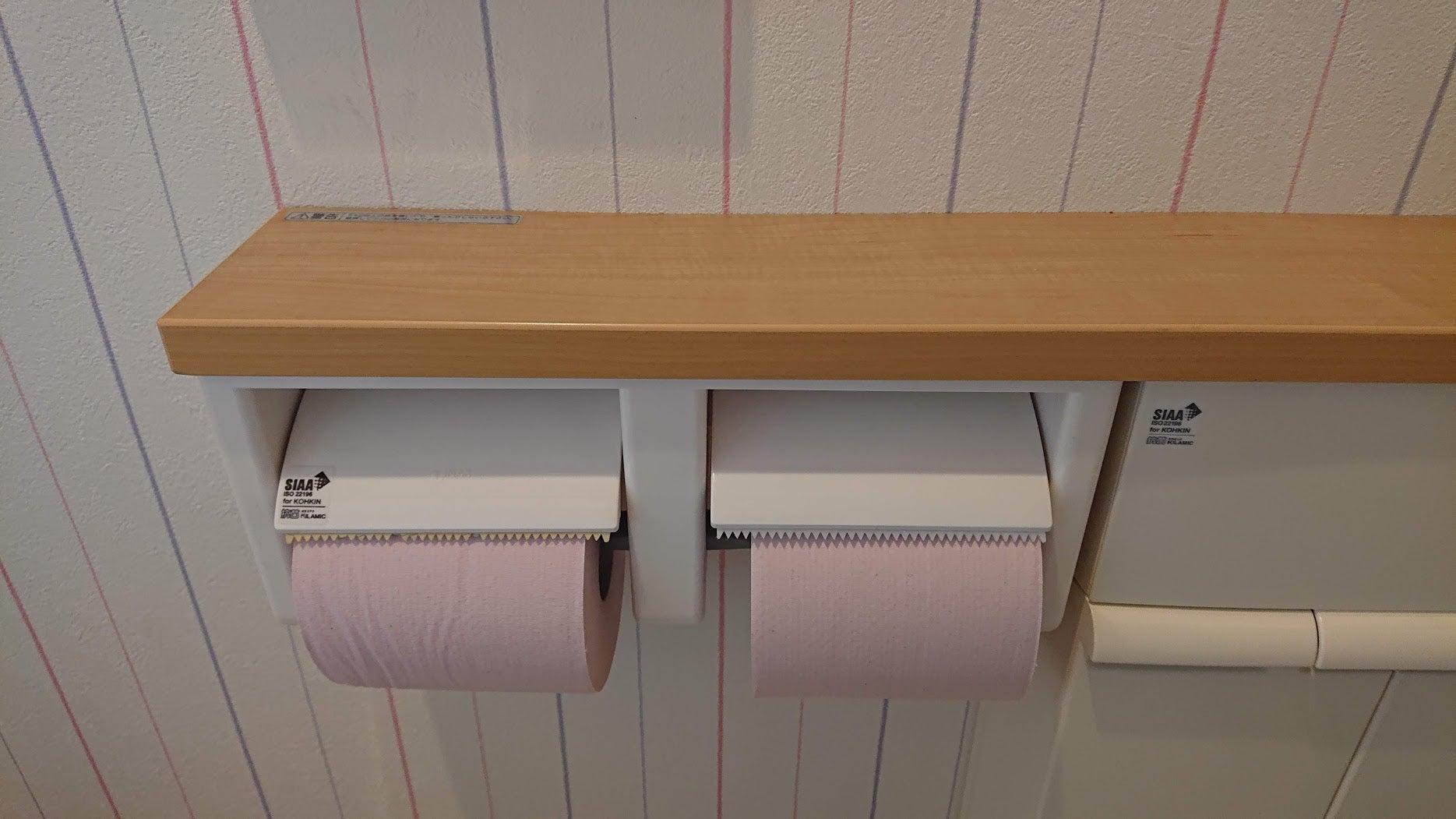 紙巻器カッター交換 トイレプチ修繕