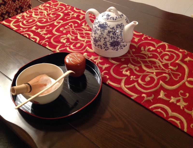 テーブル茶道 洋風