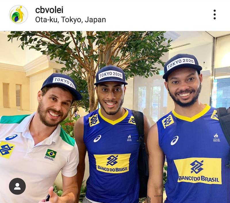 バレー 男子 ブラジル