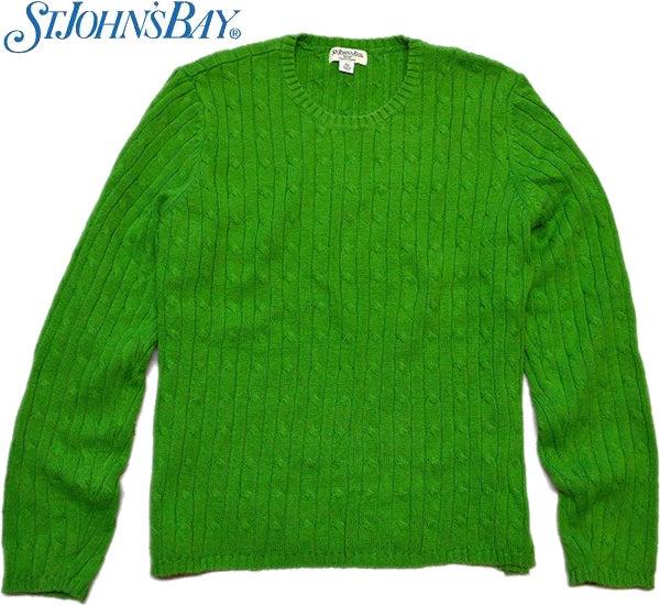 USEDケーブル編みニットセーター@古着屋カチカチ