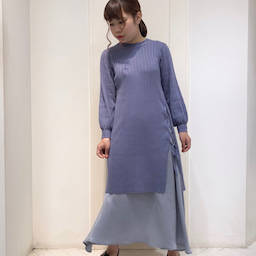 画像 ♡ワイドリブニット+サテンフィッシュスカート♡ の記事より 1つ目