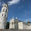 ヴィルニュス旧市街観光 大聖堂と鐘楼の画像