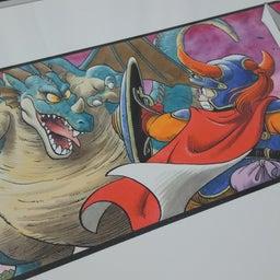 画像 ドラゴンクエスト複製原画(ドラクエ1~6) の記事より 8つ目