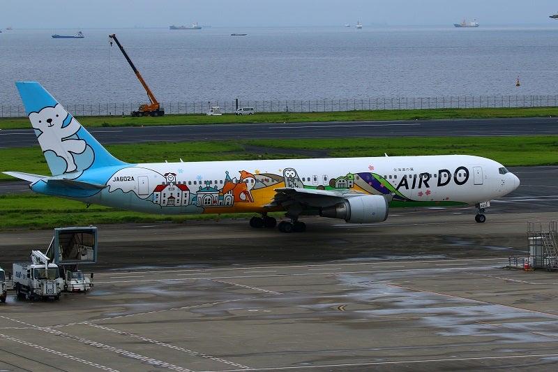 AIRDO飛行機