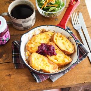 10分レシピ!基本のフレンチトーストの画像