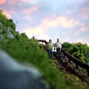 Nナローの山岳部分ほぼ完成の画像