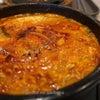 韓国食堂「ビビム」でアツアツ豆腐を飲み込んで・・・(笑)の画像