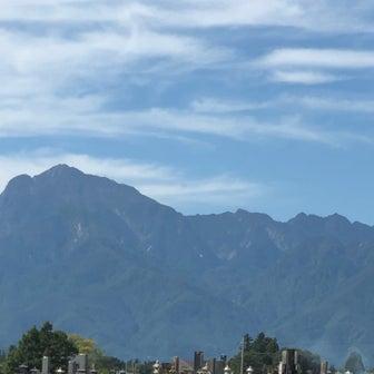 今日の富士山と南アルプス