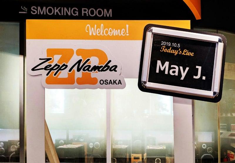 May J. Tour 2019 New Creation ファイナル Zepp Namba Osaka 2019年10月5(日)