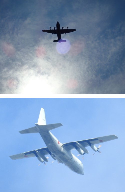 対潜哨戒機飛ぶ | 直さんの初心者五.七.五