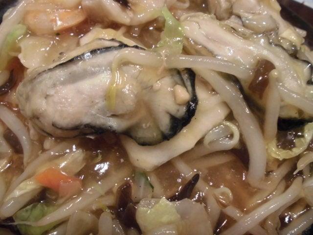牡蠣と海老の五目あんかけ焼きそば6