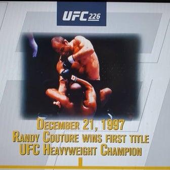 観戦記1814 UFC226 UFCヘビー級王座戦 スティーペ・ミオシッチvsダニエル・コーミエ