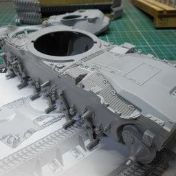 画像 アメリカ軍 M47E/M パットン 製作・8 の記事より 2つ目