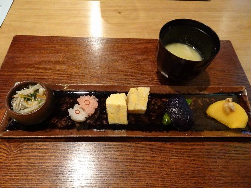 20191005和み茶屋(小汁椀と前菜)