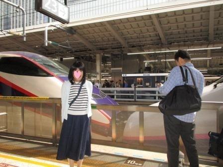 東京駅 ひとり旅
