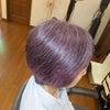 おしゃれな紫にの画像
