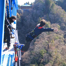 画像 高さ日本一のバンジージャンプ!竜神大吊橋! の記事より 4つ目