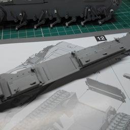 画像 アメリカ軍 M47E/M パットン 製作・9 の記事より 2つ目