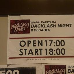 画像 20191008 BACKLASH NIGHT Ⅱ DECADES の記事より 1つ目