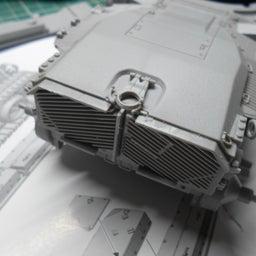 画像 アメリカ軍 M47E/M パットン 製作・10 の記事より 2つ目
