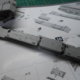 画像 アメリカ軍 M47E/M パットン 製作・11 の記事より 2つ目