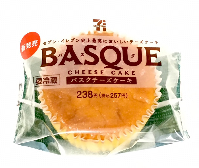 「セブン バスクチーズケーキ」の画像検索結果